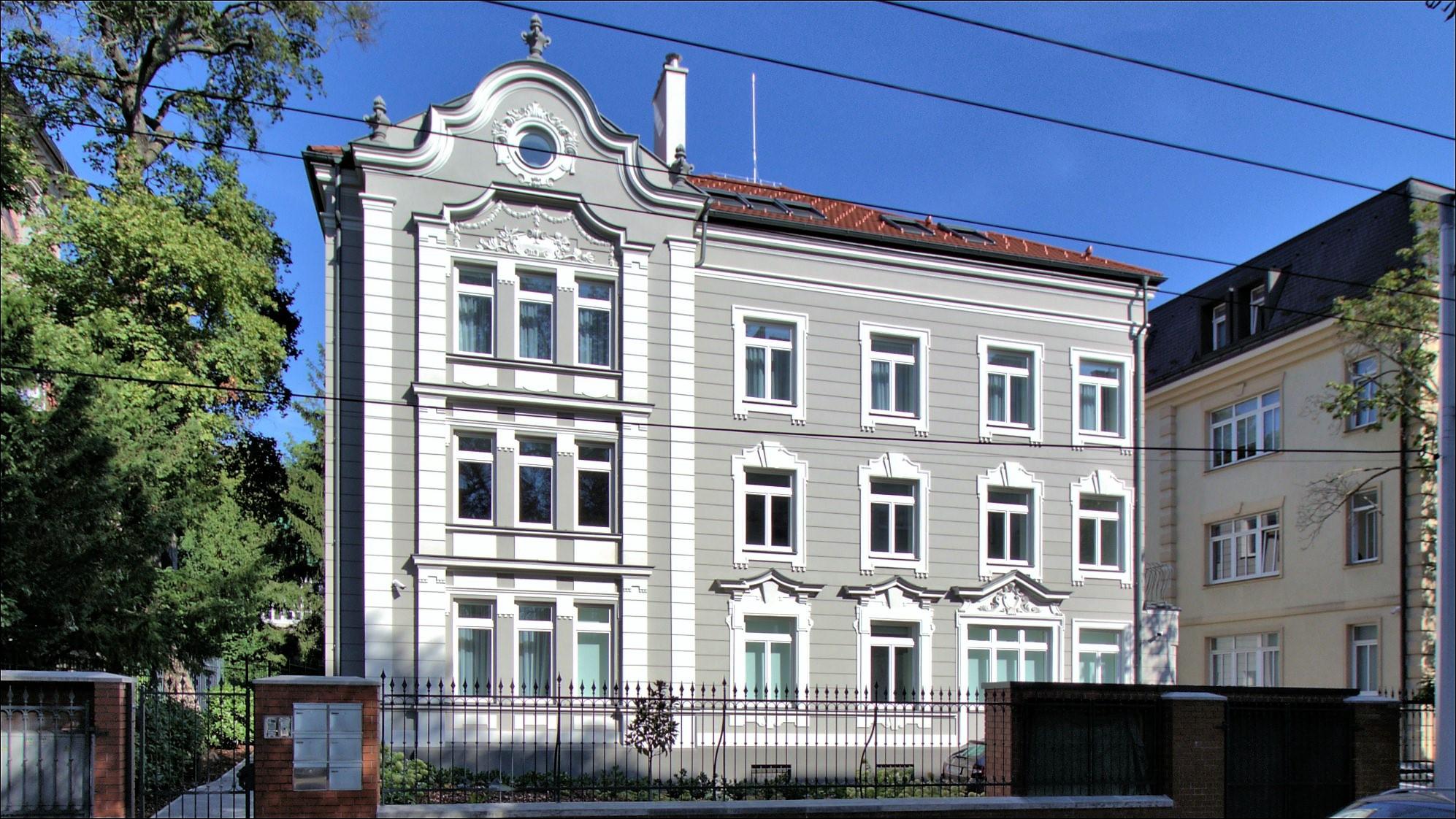 Rekonštrukcia historickej vily